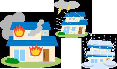 火災保険の風災補償が使えるかもしれません!